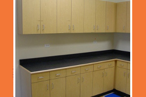 General Casework 4d Institutional Cabinets